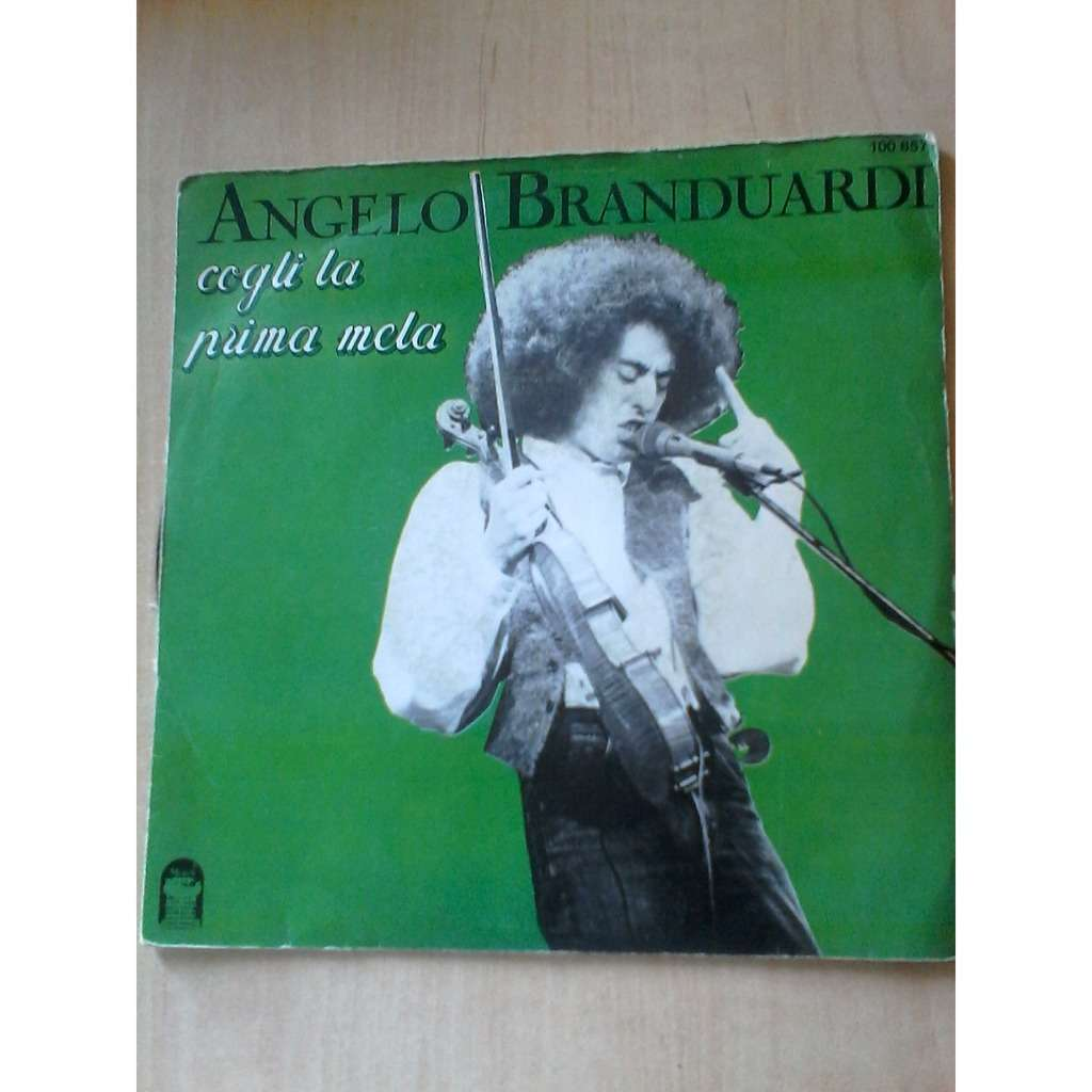 Angelo Branduardi Cogli la Prima Mela Angelo Branduardi Cogli la
