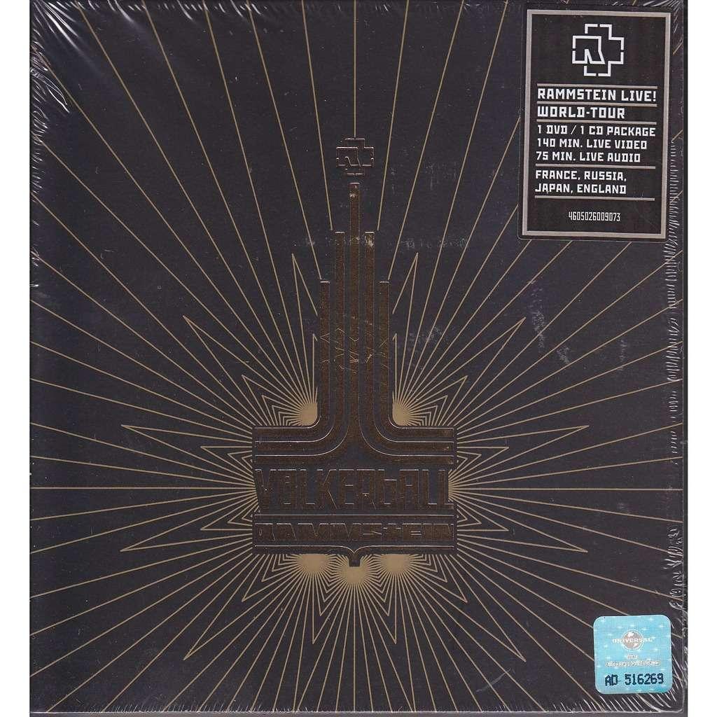 Rammstein Völkerball DVD+CD BOX