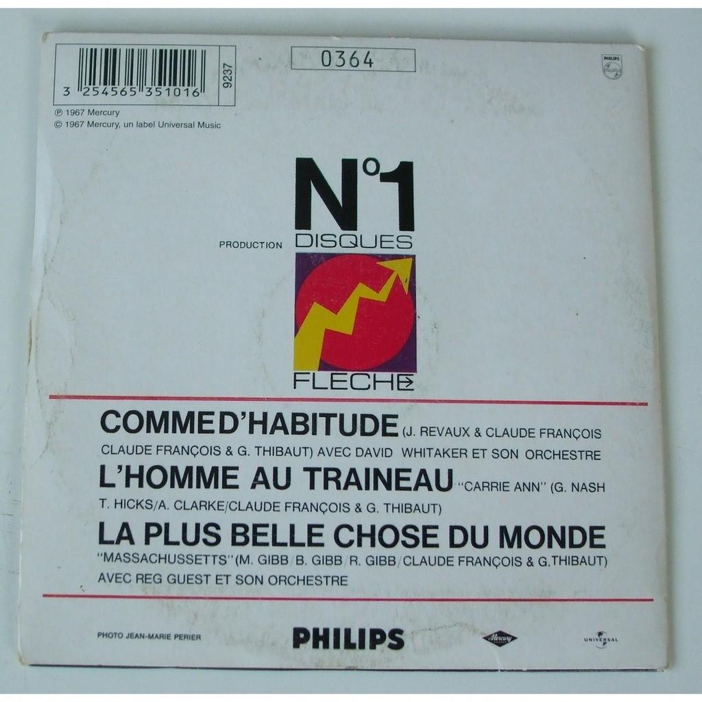 Claude François Comme d'habitude