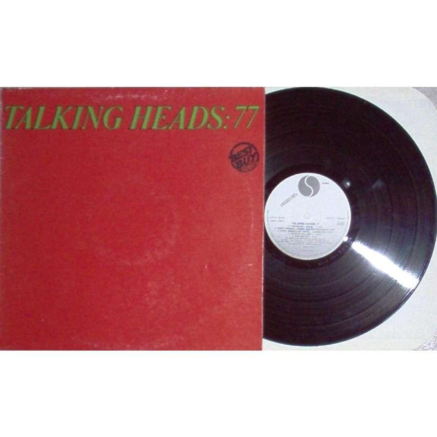 Talking Heads 77 (Italian 1981 11-trk w/label 'Best Buy Series' LP promo full ps)