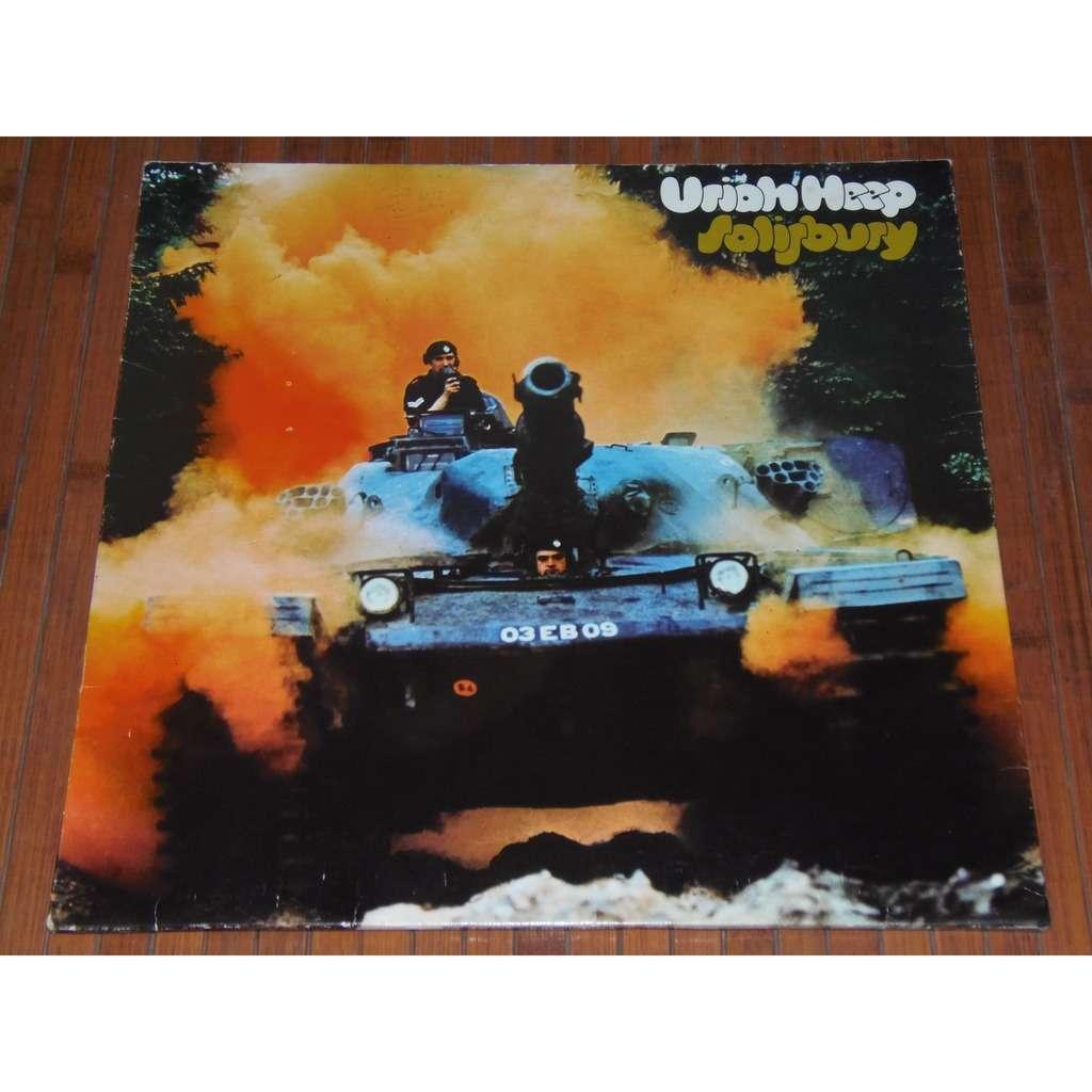 Salisbury By Uriah Heep Lp Gatefold With Yesyes Ref 117495676
