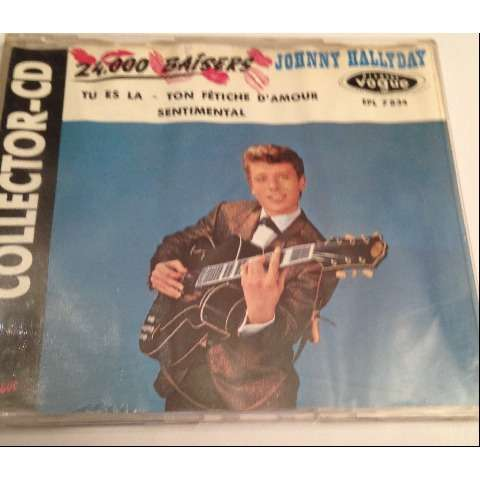 Johnny HALLYDAY 24000 baisers