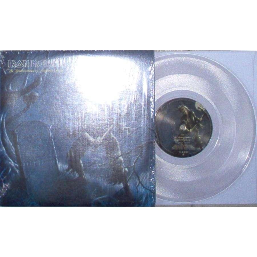 IRON MAIDEN REINCARNATION OF BENJAMIN BREEG (USA 2006 LTD 3-TRK 10 CLEAR WAX FULL PS)