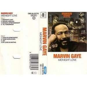 MARVIN GAYE Midnight love (8t)