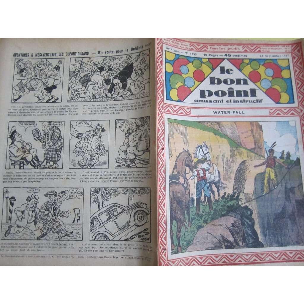 Le Bon Point Amusant Et Instructif Le Bon Point Amusant Et Instructif N° 1295 : Water - Fall. 1937