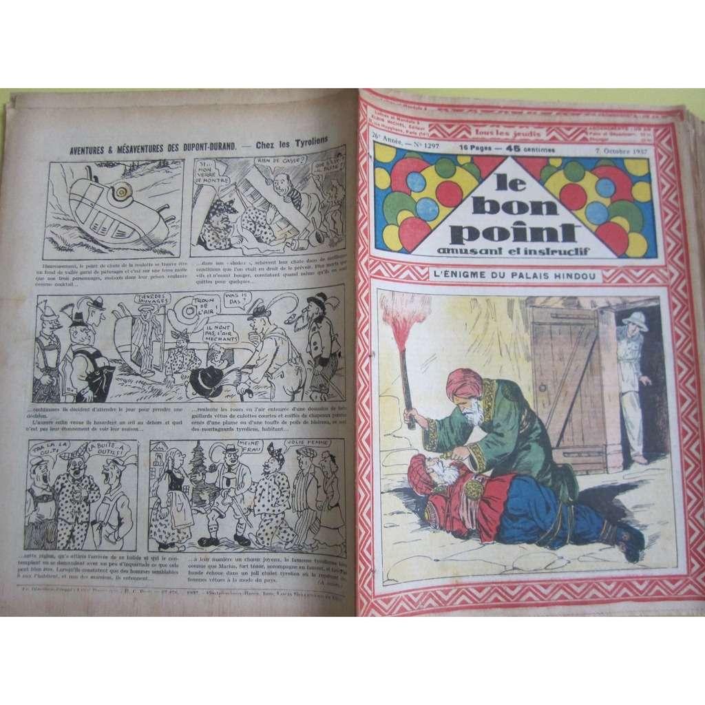 Le Bon Point Amusant Et Instructif Le Bon Point Amusant Et Instructif N° 1297 : L'énigme du palais hindou. 1937