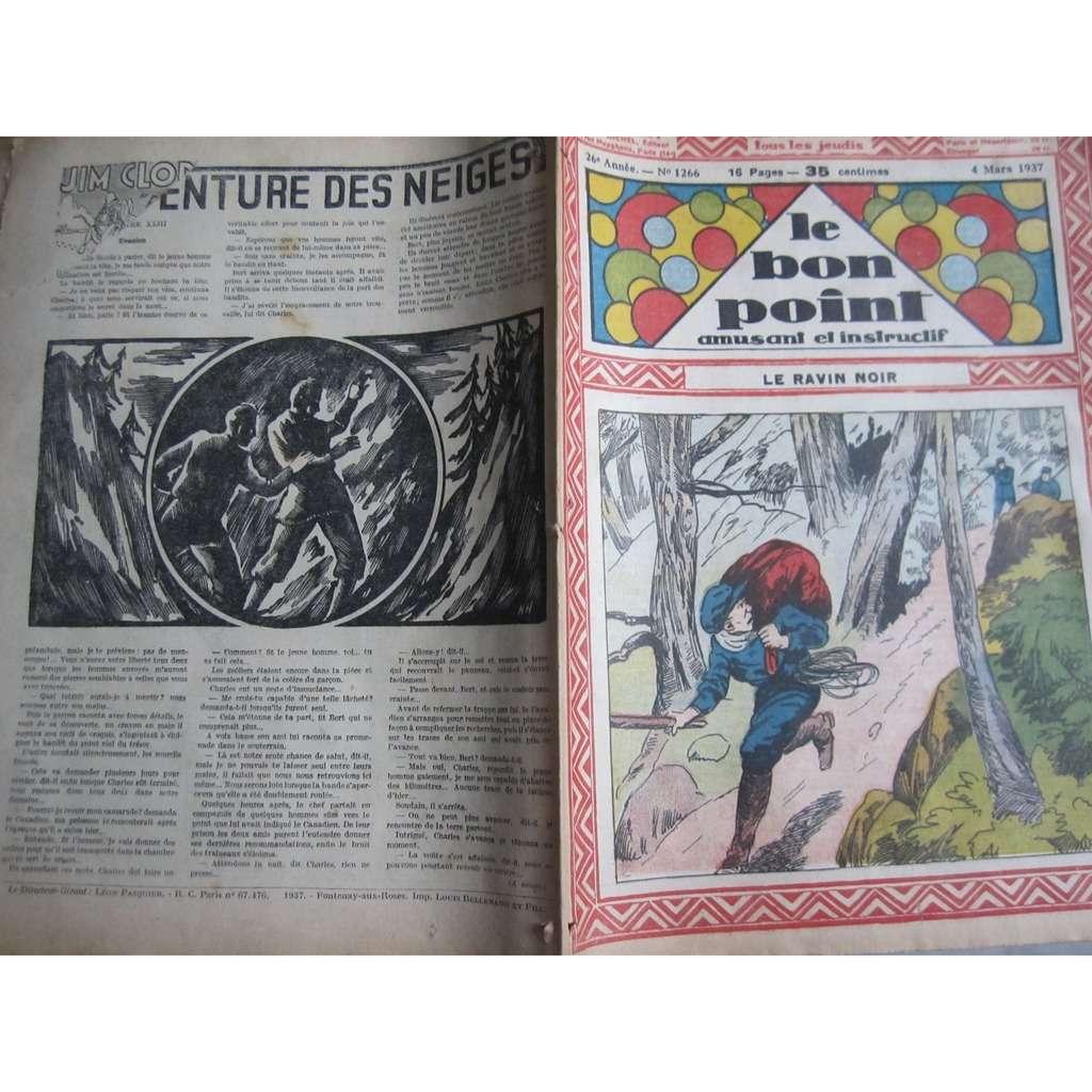 Le Bon Point Amusant Et Instructif Le Bon Point Amusant Et Instructif N° 1266 : Le ravin noir. 1937