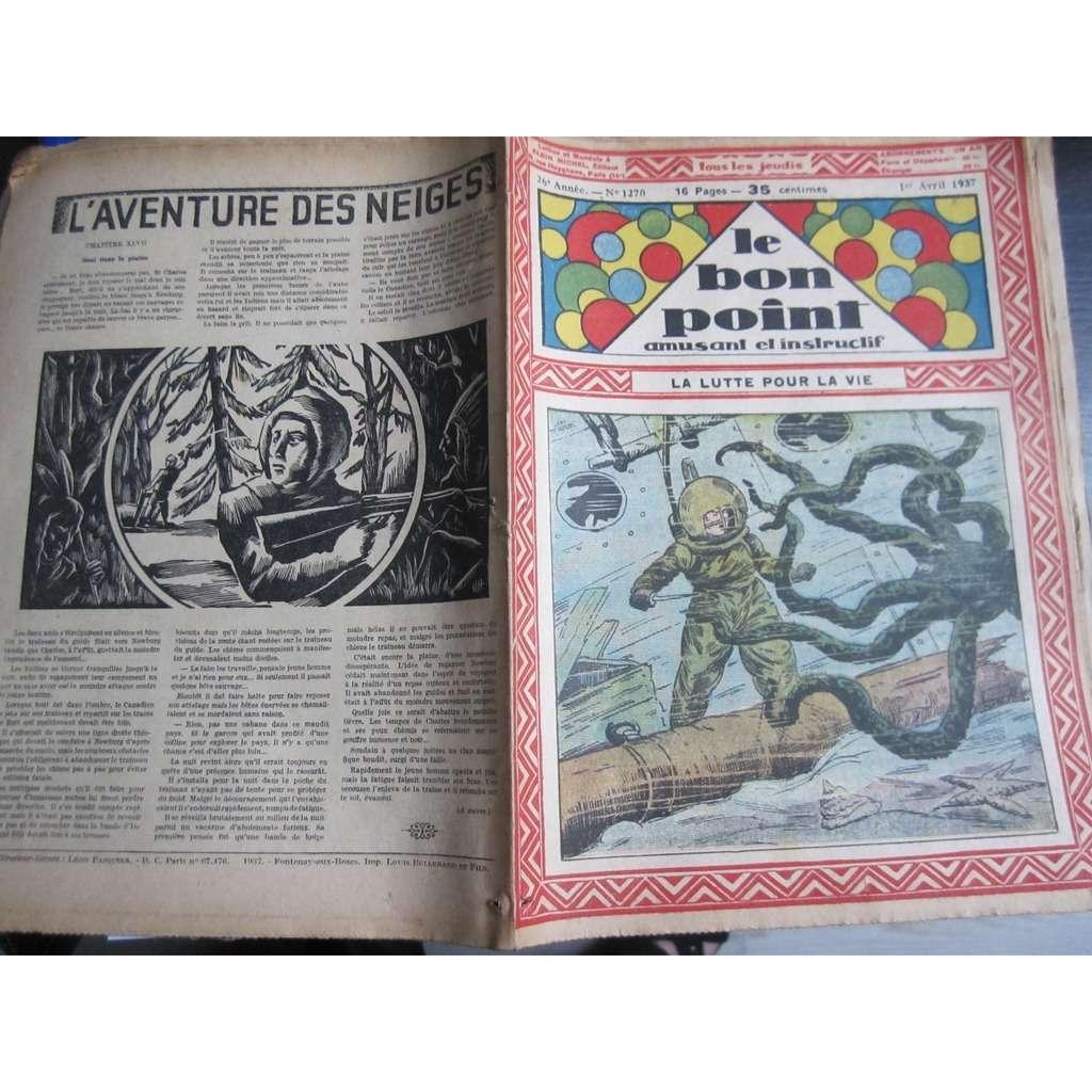 Le Bon Point Amusant Et Instructif Le Bon Point Amusant Et Instructif N° 1270 : La lutte pour la vie. 1937