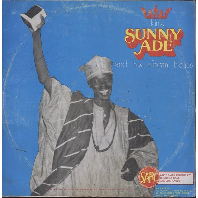 KING SUNNY ADE AND HIS AFRICAN BEATS the royal sound, LP for
