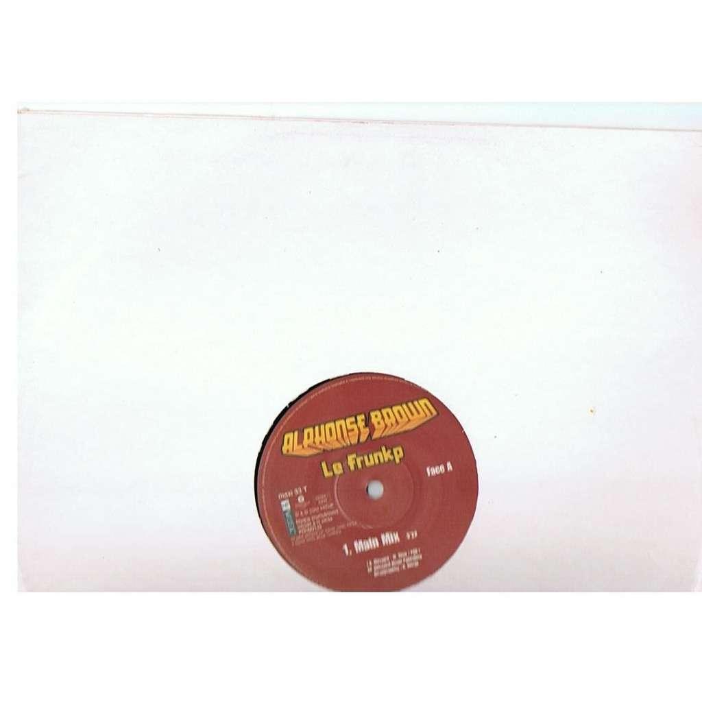ALPHONSE BROWN LE FRUNKP - 3 mix - promo copy-