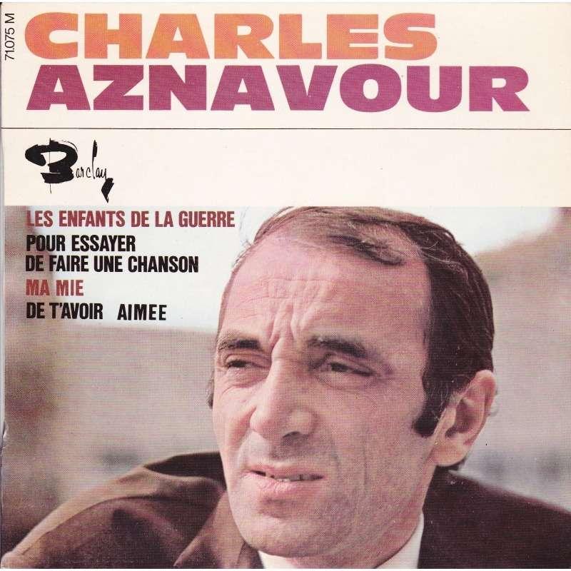 pour essayer de faire une chanson Pour essayer de faire une chanson charles aznavour (france) comme un policier enquêtant pour un crime qui fouille l'indice en suivant sa pensée je cherche le.