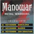 MANOWAR - Metal Warriors (7) Ltd Promo -Spain - 45T (SP 2 titres)