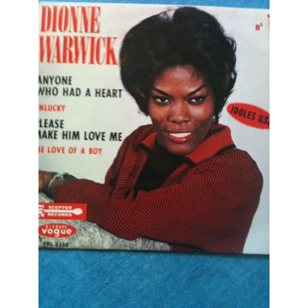 DIONNE WARWICK Anyone who had a heart + 3