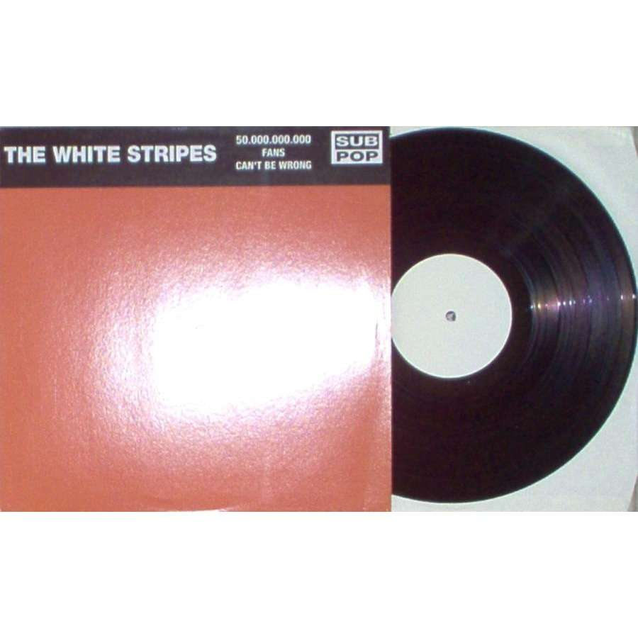 The White Stripes 50.000.000 Fans Can't Be Wrong (A-Sides & B-Sides)
