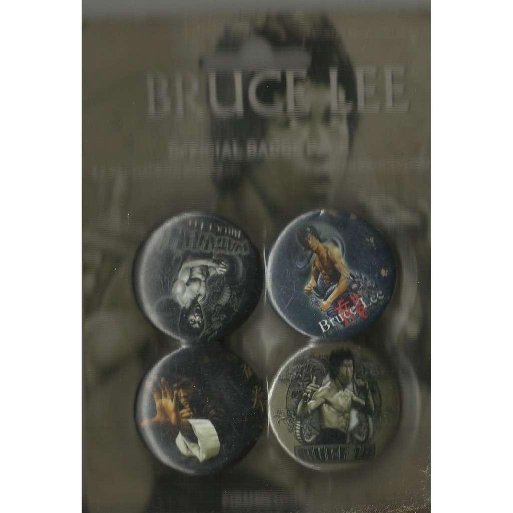 BRUCE LEE official badge pack