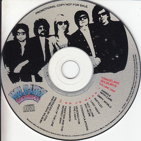 Volume One By Traveling Wilburys Cd With Collector89