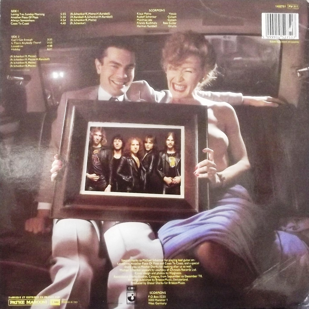 Lovedrive By Scorpions Lp With Vinyl59 Ref 117512823