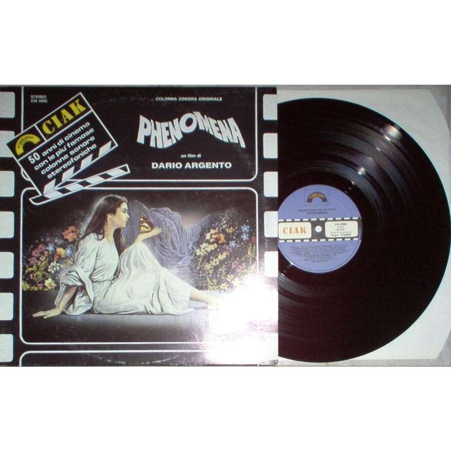 iron maiden Phenomena (Italian 1987 'Ciack Cinema Series' 12-trk OST V/A LP unique ps)