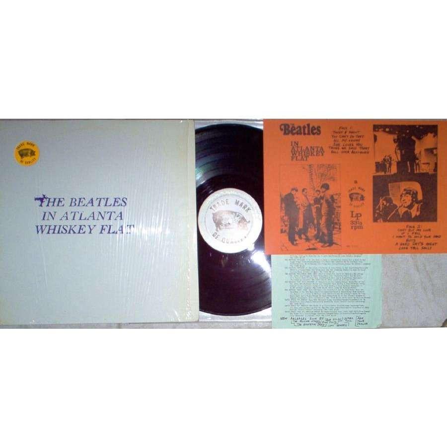 Beatles In Atlanta Whiskey Flat (TMoQ full 'sidePig' lbl original LP stamped & stickered ps & inserts)