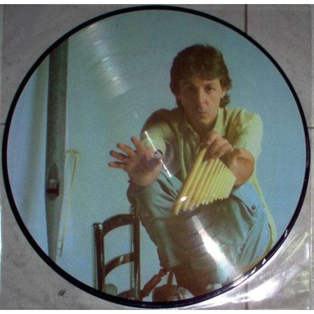Beatles Paul McCartney 80s European Ltd Live LP Picture Disc