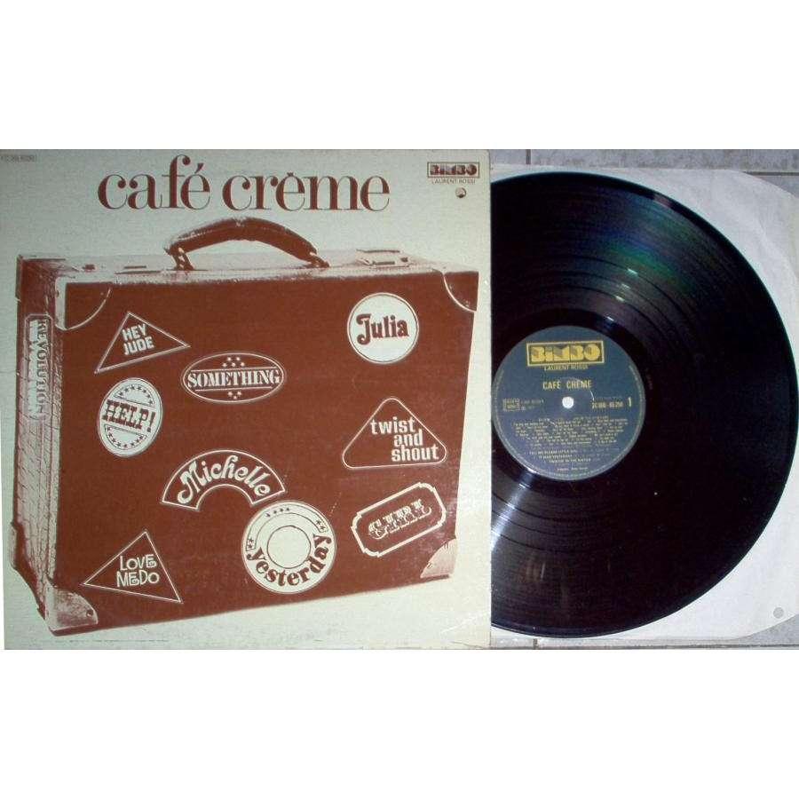 Beatles / Café' Creme Café' Creme (French 1977 Lp full ps)