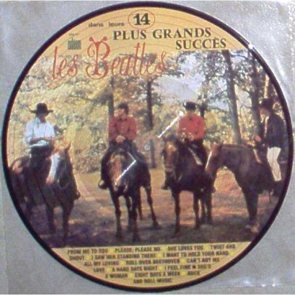 Beatles Dans Leurs 14 Plus Grands Succes (French Ltd re 14-trk LP Picture Disc PVC slv)