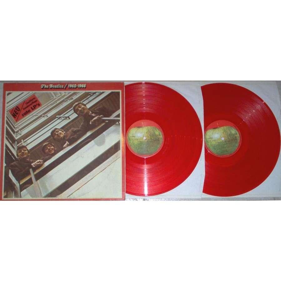 Beatles 1962-1966 (German 70s Ltd 2LPset RED vinyl diff. gf ps)