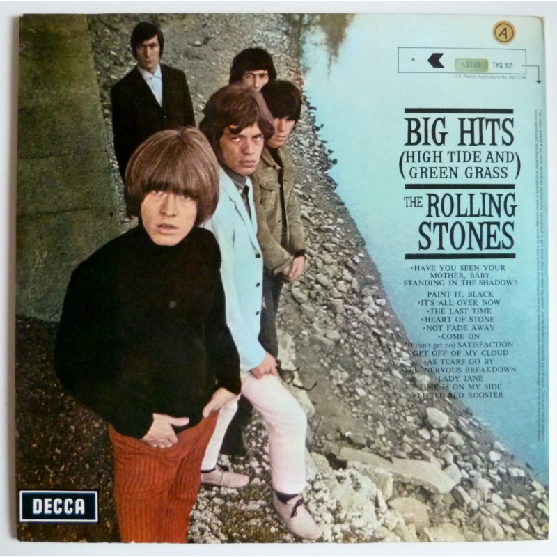 Big Hits High Tide And Green Grass By The Rolling Stones