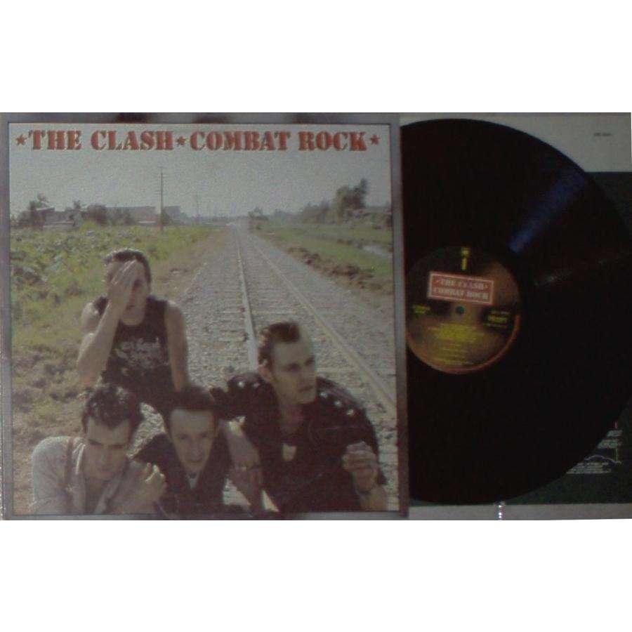The Clash Combat Rock (Italian 1982 12-trk Lp full ps & inner slv)