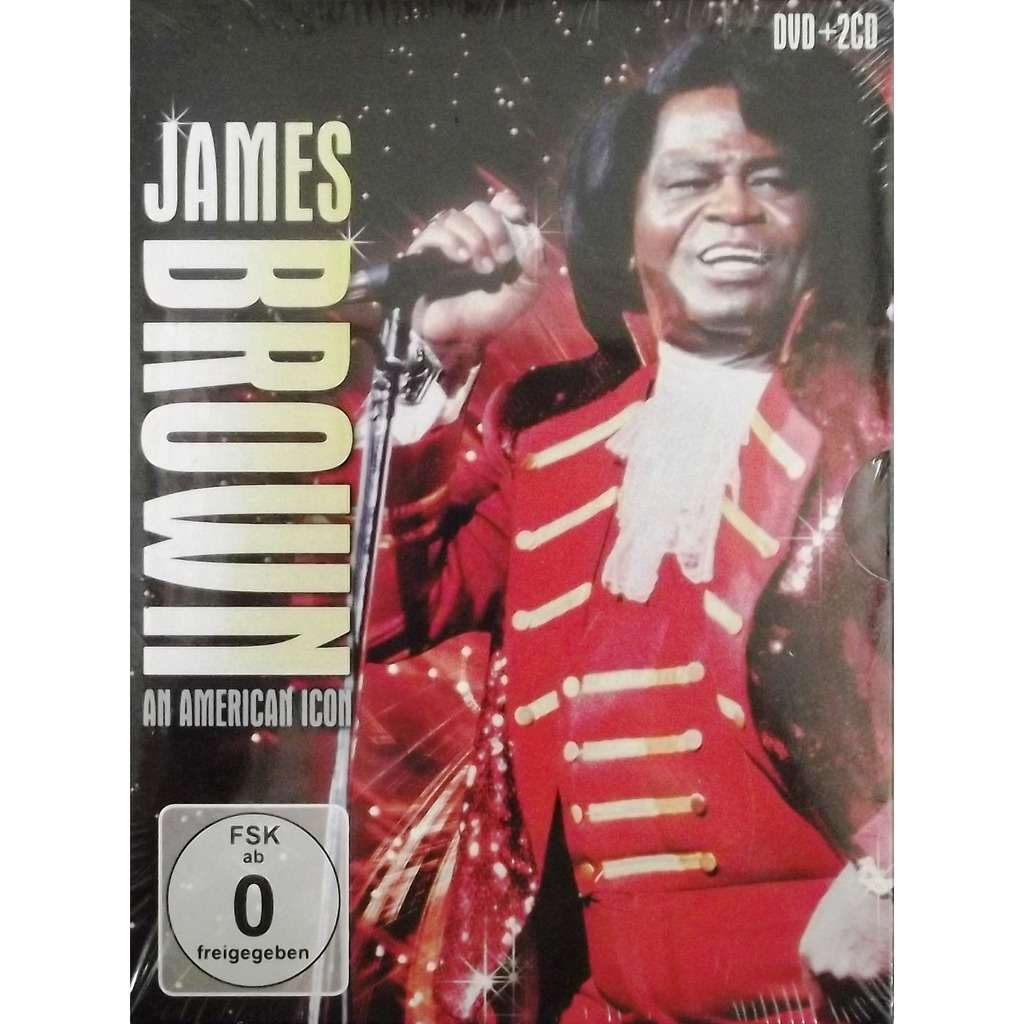 James Brown James Brown - An American Icon (DVD + 2 CD)