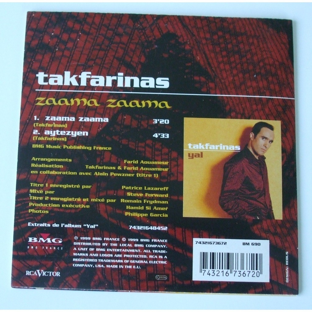 zaama zaama takfarinas
