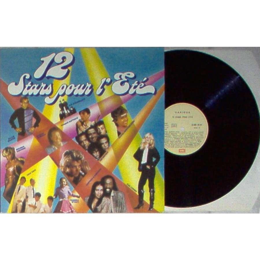 Talk Talk 12 STARS POUR L'ETE' (FRENCH 1982 V/A LP FULL GREAT PS)