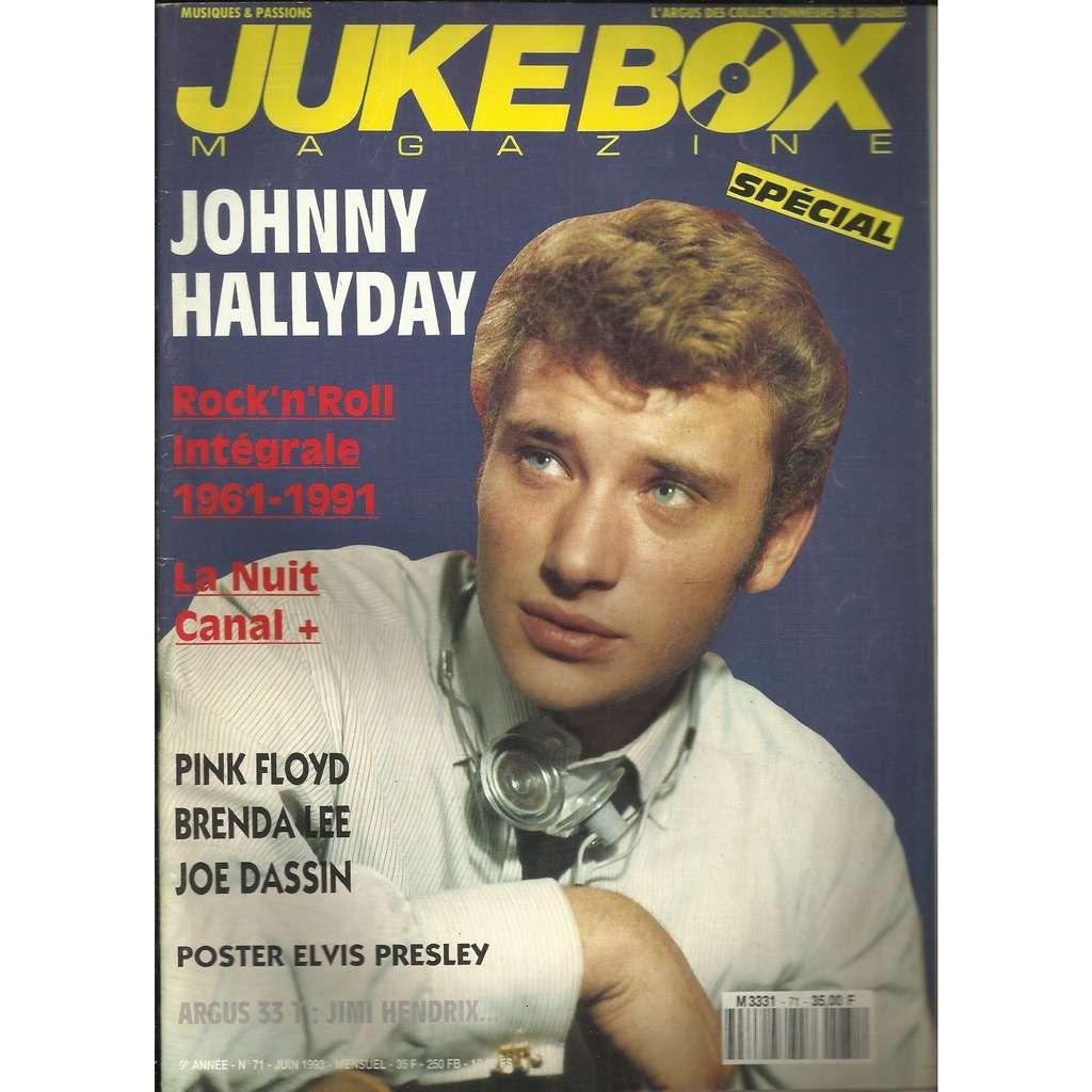 JOHNNY HALLYDAY Jukebox magazine 71