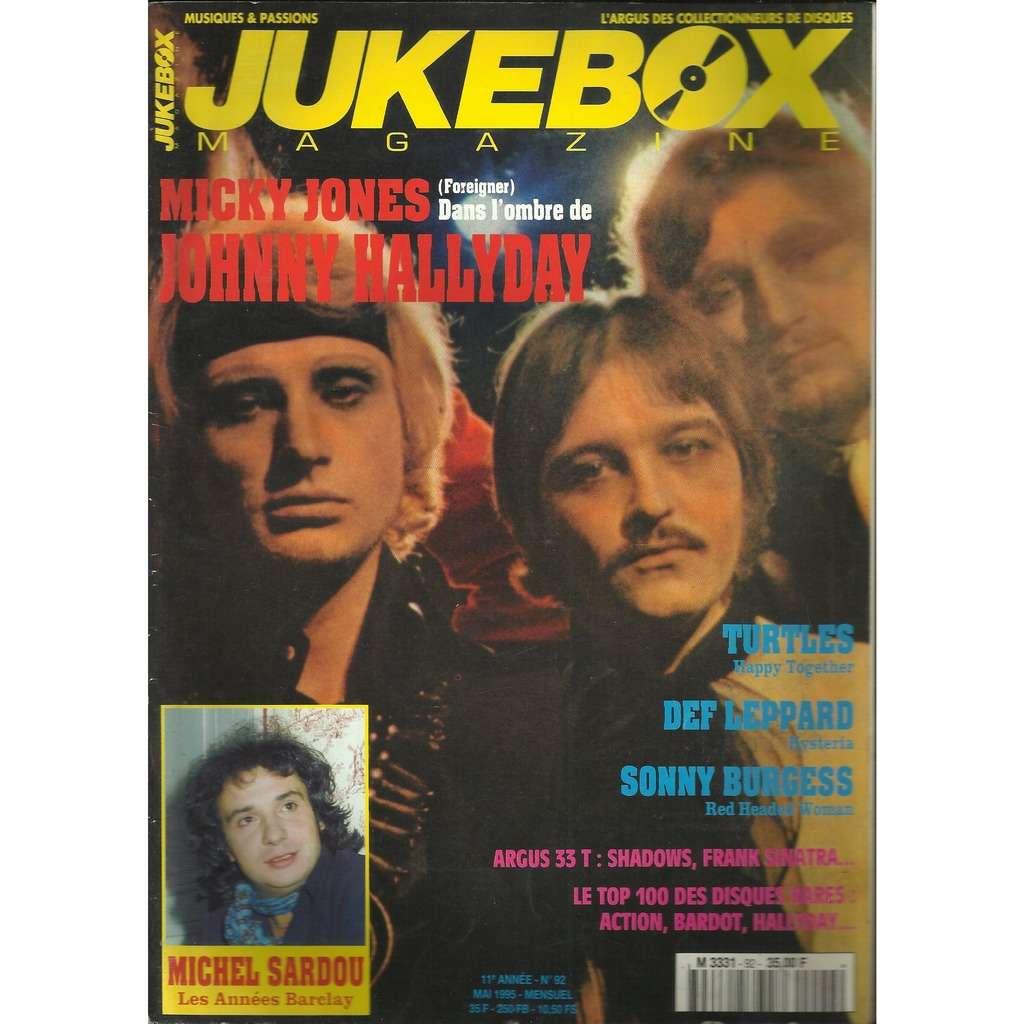 JOHNNY HALLYDAY jukebox no 70 magazine