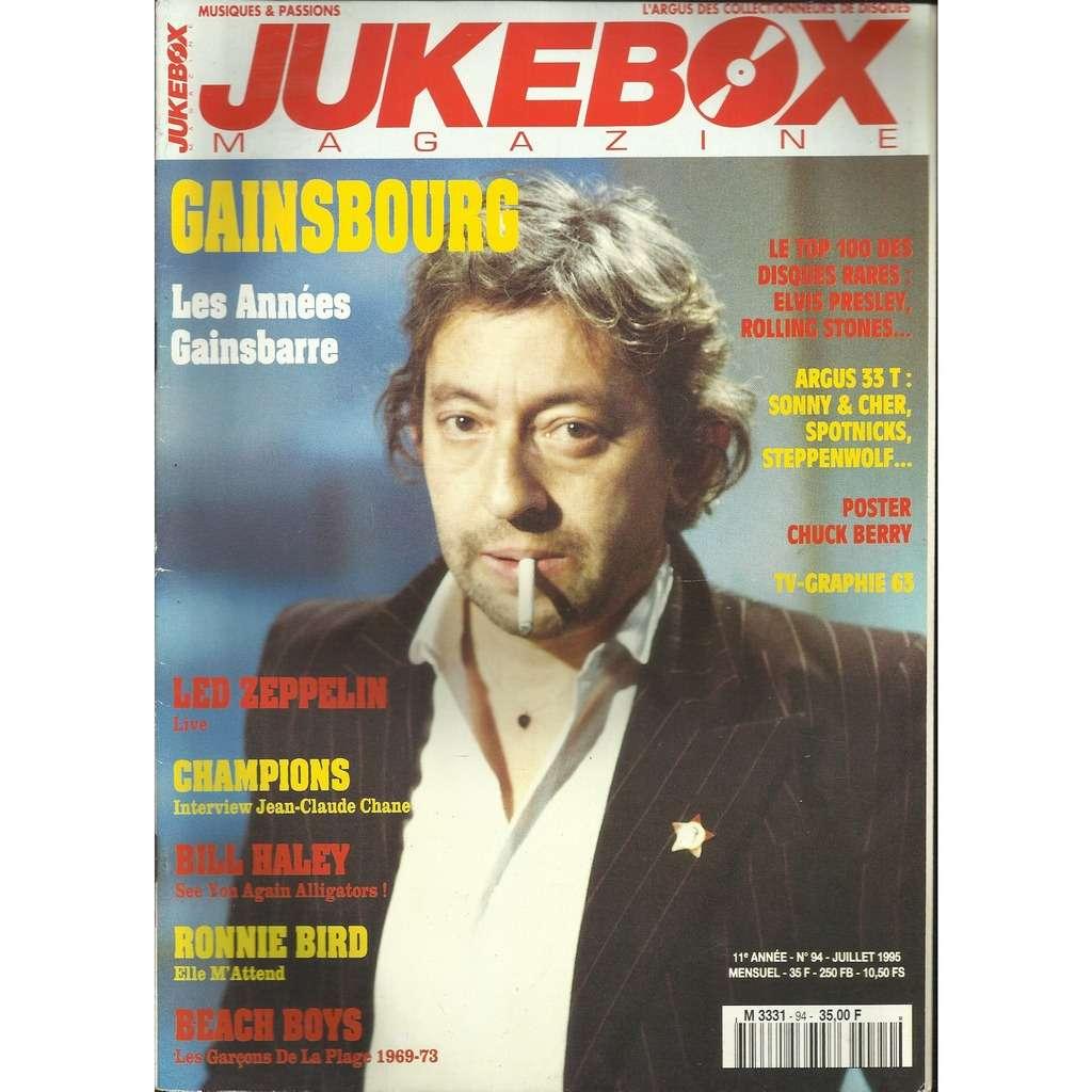 SERGE Gainsbourg Jukebox n° 94 - MAGAZINE