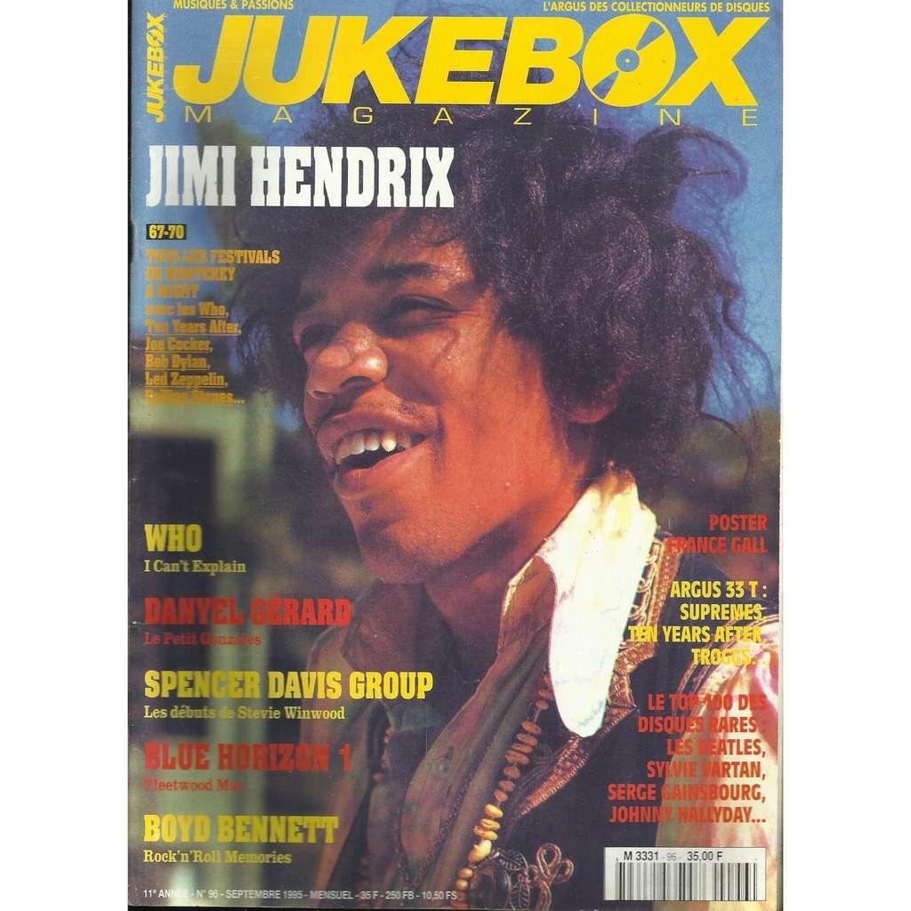 Jimi Hendrix Jukebox MAGAZINE n° 96 - :