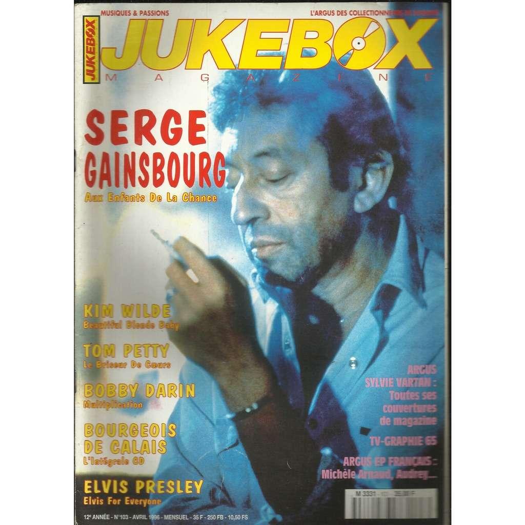 SERGE GAINSBOURG Jukebox magazine No103
