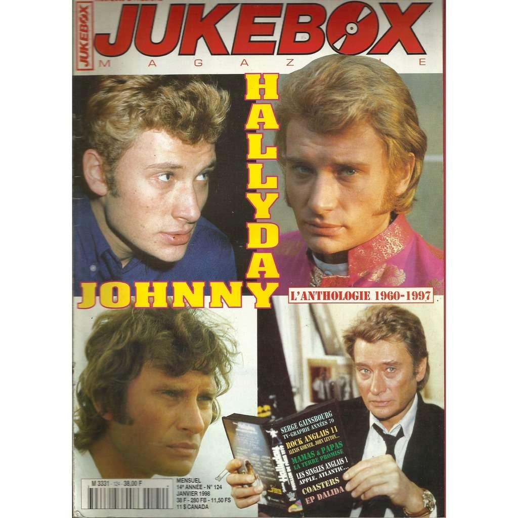 johnny hallyday Jukebox Magazine N°124