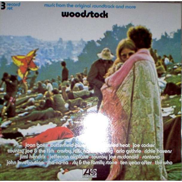 Woodstock German 1970 Ost 21 Trk 3lp Set 3 Way Gf Ps By