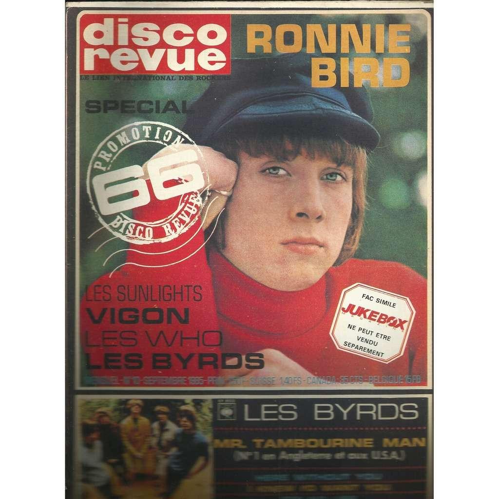 ronnie bird Disco Revue N 10 Réedition Jukebox Fac Similé