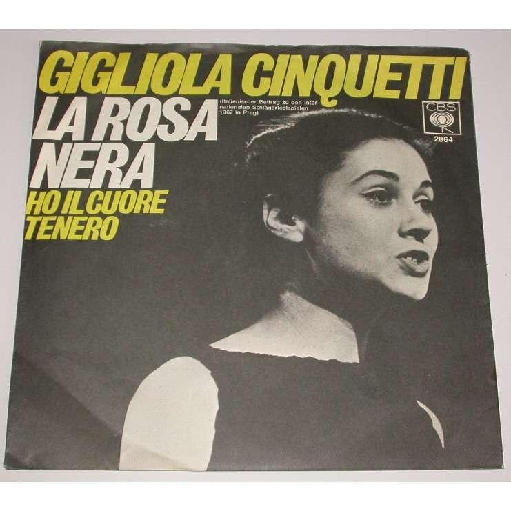 CINQUETTI GIGLIOLA La Rosa Nera (Made In German CBS)