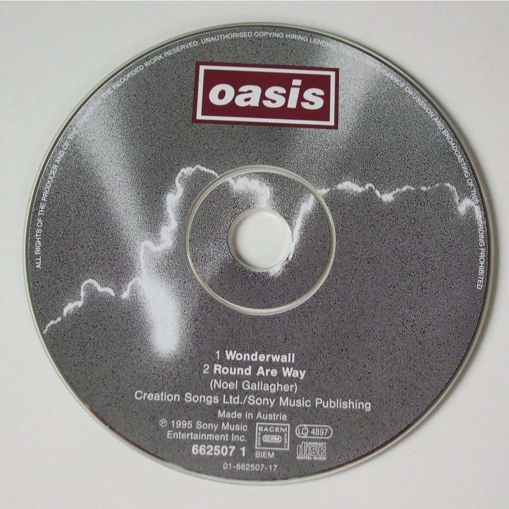 Wonderwall By Oasis Cds With Dom88 Ref 117534414