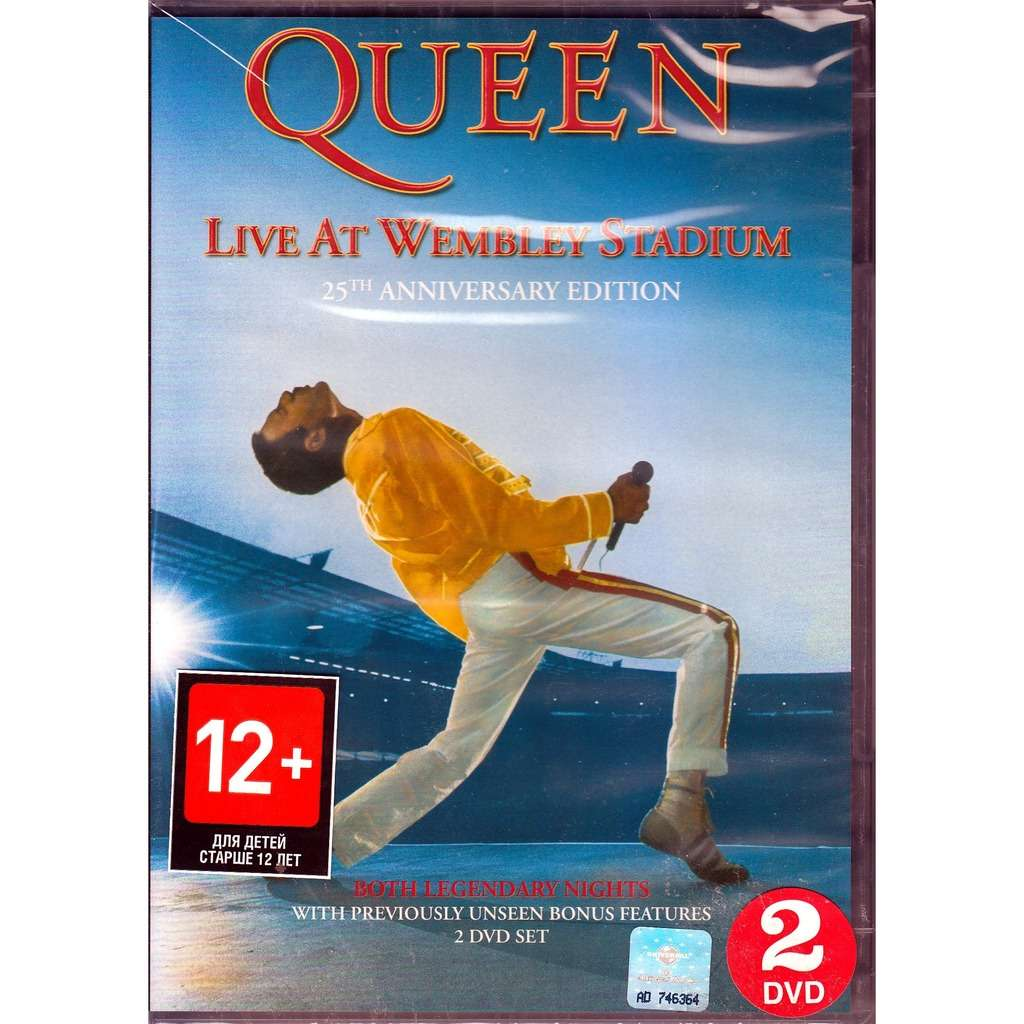 QUEEN Live at Wembley Stadium 25th Anniversary Edition 2DVD NTSC
