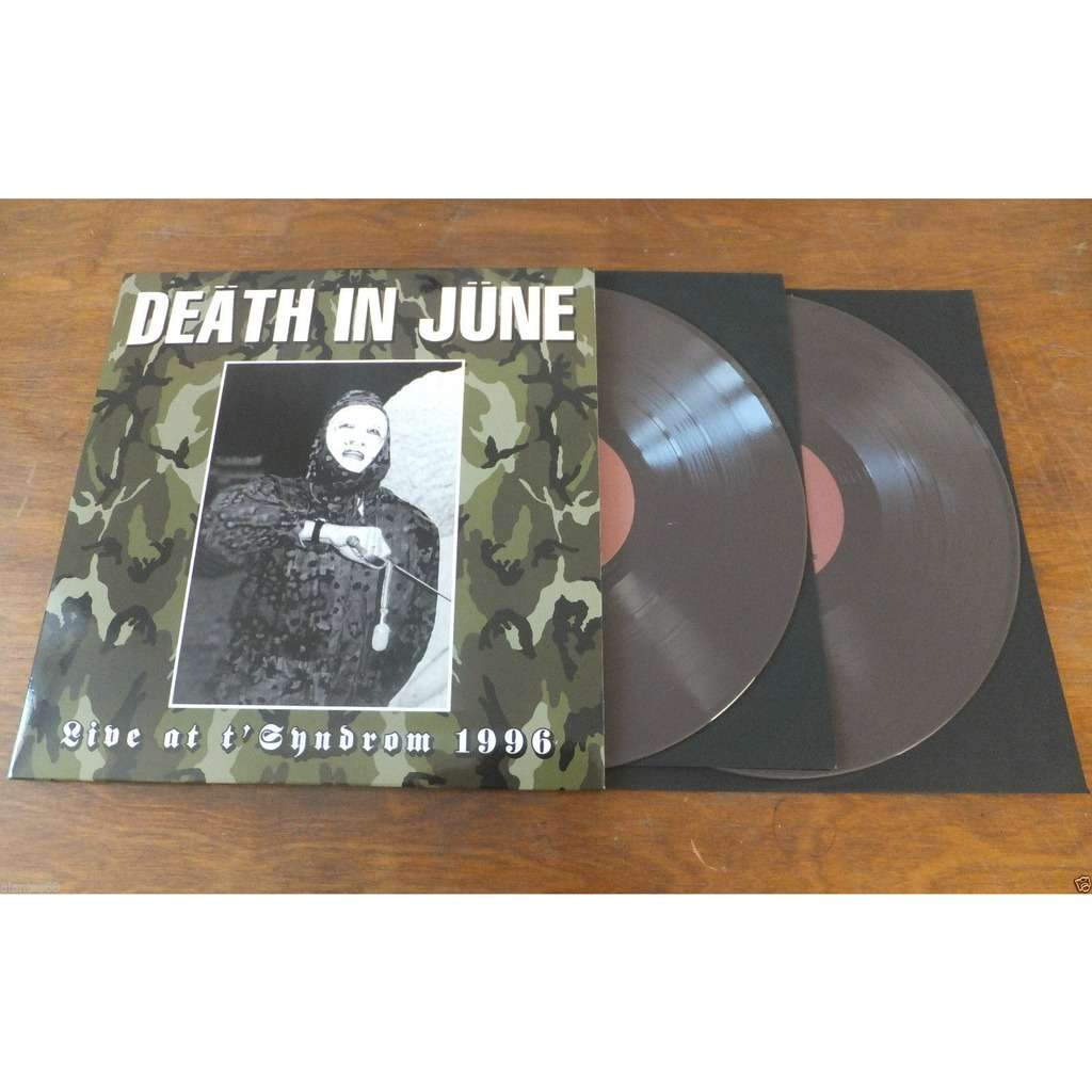 death in june live at t'syndrom 1996