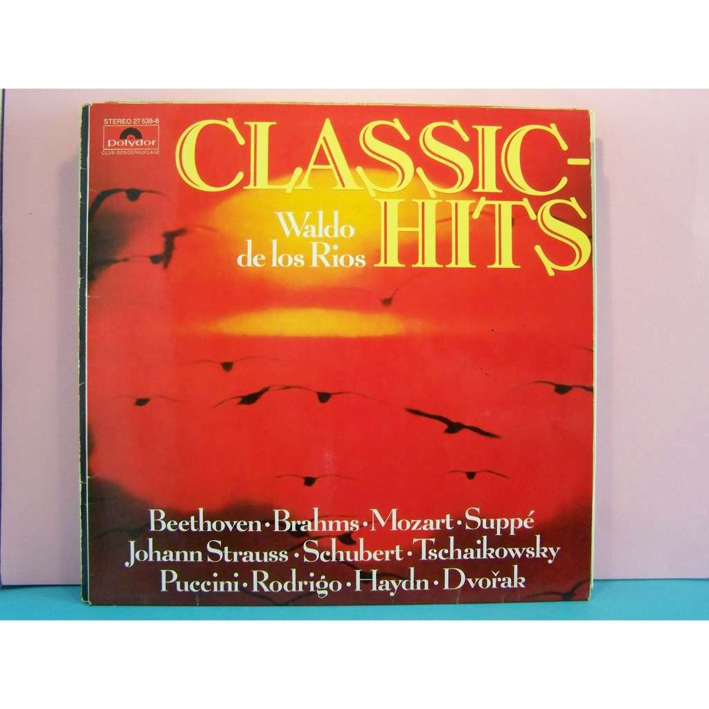 Classic hits club by waldo de los rios lp with for Classic club music