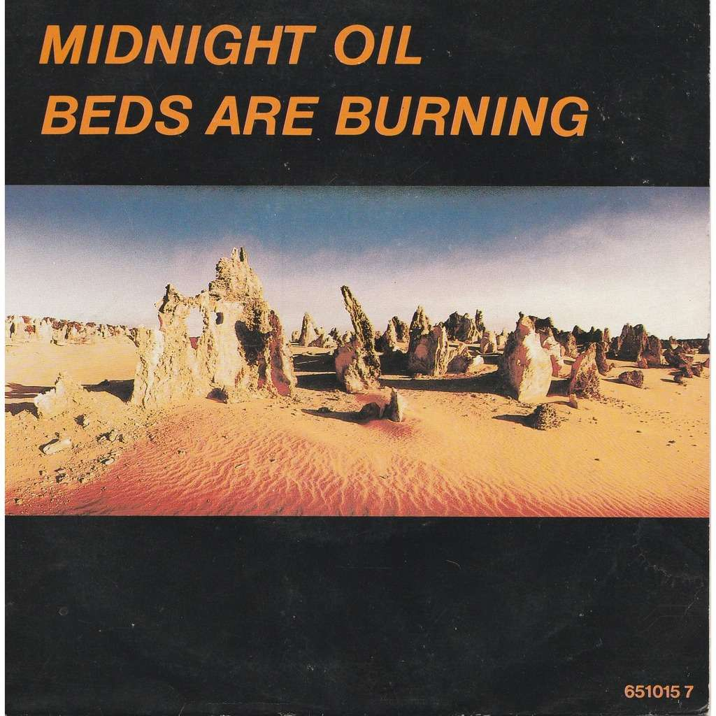 Beds Are Burning By Midnight Oil Sp With Zolpidem1 Ref