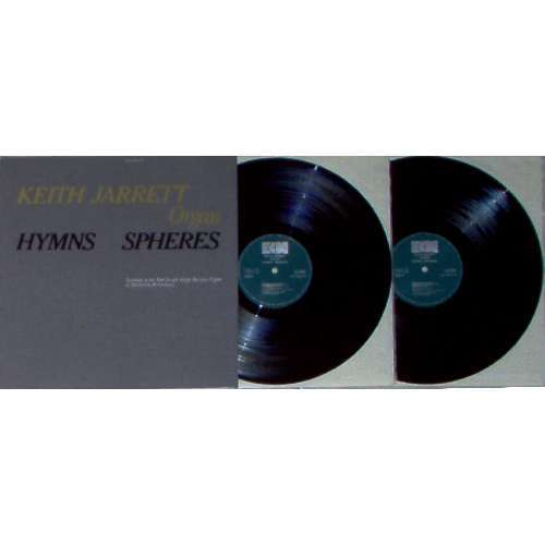 Keith Jarrett HYMNS-SPHERES (GERMAN 1976 11-TRK 2LP ON ECM LBL FULL GF PS)