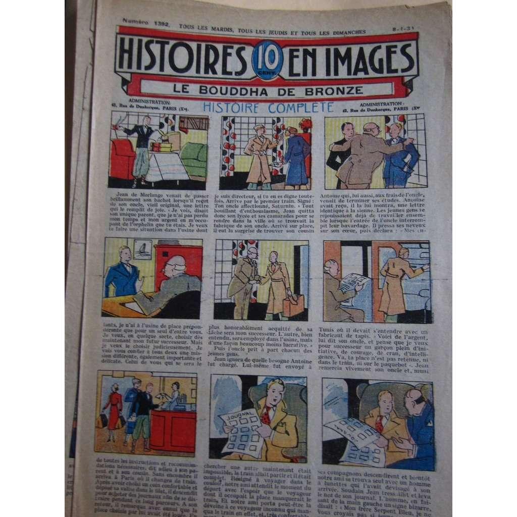 Histoires En 10 Images Histoires En 10 Images N° 1392 : le Bouddha de bronze. 1934, 4 Pages