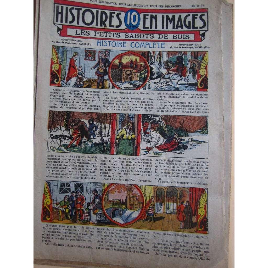 Histoires En 10 Images N° 1062 Histoires En 10 Images N° 1062 : Les petits sabots de Buis, 1932, 4 Pages