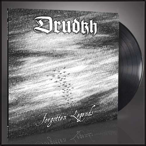 DRUDKH Forgotten Legends. Black Vinyl